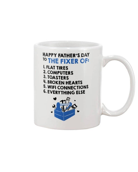 Happy Father's Day To The Fixer Of Flat Tires, Computers, Toasters Broken Heart - Happy Father's Day 2020