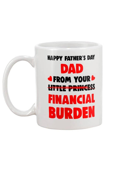 Happy Father's Day Dad From Little Princess (Financial Burden) - Happy Father's Day 2020