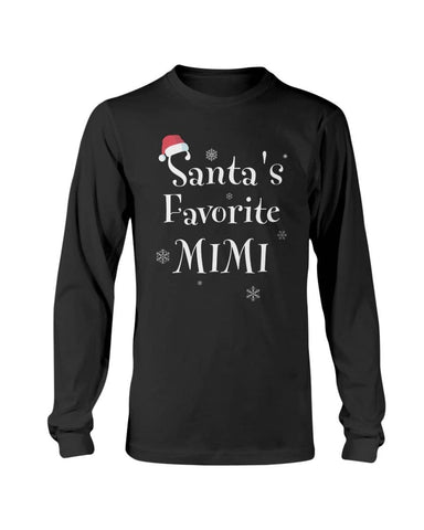 Santa's favorite mimi Christmas Shirt - Happy Father's Day 2020