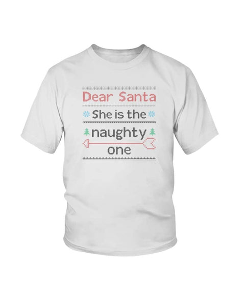 Who is the naughty one Shirt - Happy Father's Day 2020
