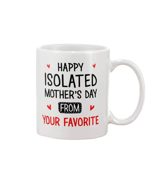 Isolated Mother's Day Mug - Happy Father's Day 2020