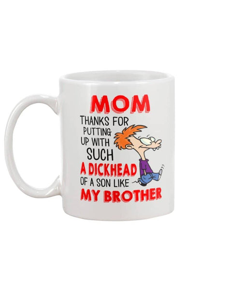 A Dickhead Of A Son Mug - Happy Father's Day 2020