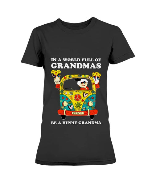 Full grandma be hippie grandma Shirt - christmas 2019