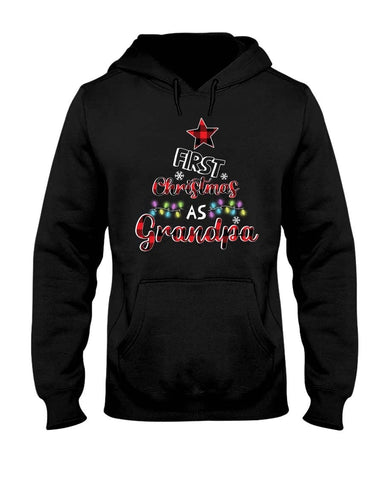 FIRST CHRISTMAS AS GRANDPA SHIRT - christmas 2019