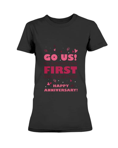 First year anniversary Christmas Shirt - Happy Father's Day 2020