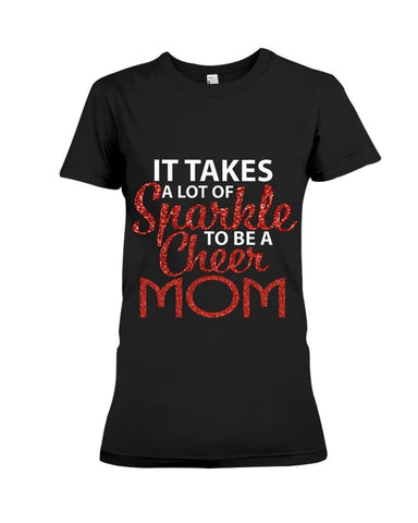 Sparkle Cheer Mom Shirt - Happy Father's Day 2020