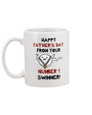 No. 1 Swimmer - Happy Father's Day 2020