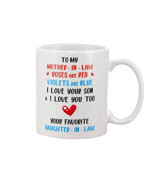 Roses Are Red I Love You Too Mug - Happy Father's Day 2020