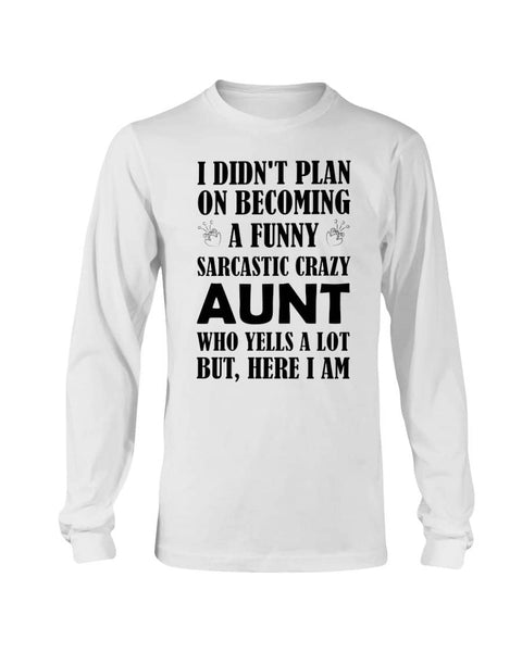 Aunt Who Yells A Lot Christmas Shirt - Happy Father's Day 2020