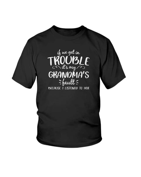 Children's Christmas shirt, Grandma's Fault Listen to - Happy Father's Day 2020