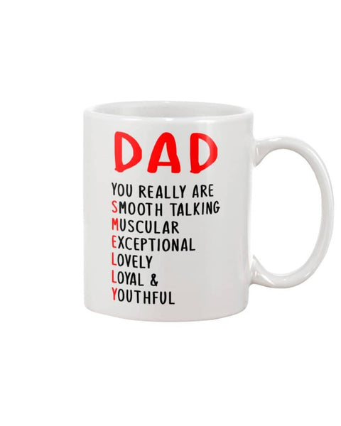 Dad, You Really Smooth-Talking, Muscular, Exceptional, Lovely, Loyal & Youthful - Happy Father's Day 2020
