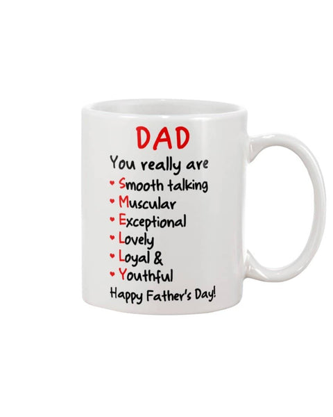 Dad Smooth-talking Muscular Exceptional Lovely Loyal & Youthful - Smelly - Happy Father's Day 2020