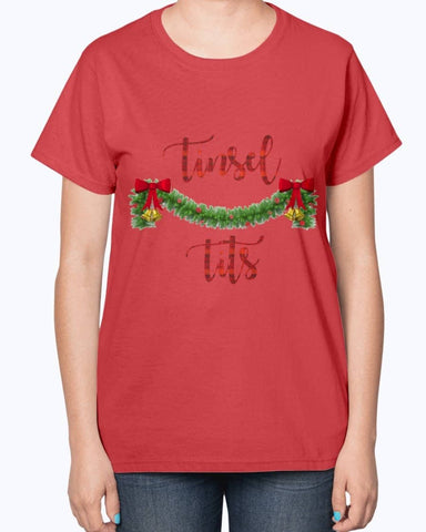 TINSEL TITS T-Shirt - Happy Father's Day 2020
