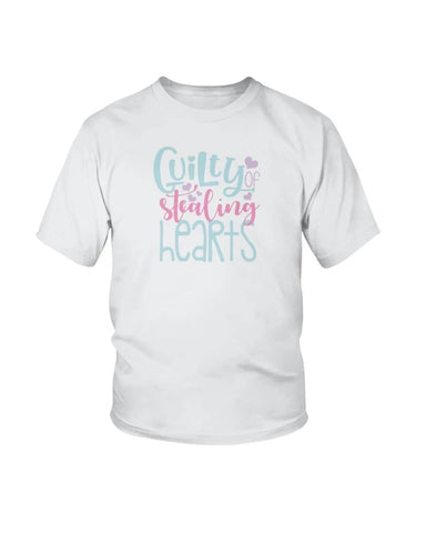 Guilty of stealing hearts Shirt - Not The Worst Gift