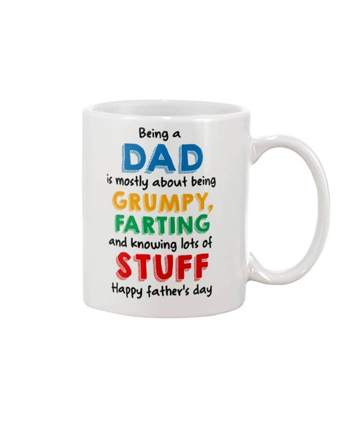 Being A Dad Is Mostly About Being Grumpy, Farting And Knowing Lots Of Stuff - Happy Father's Day 2020