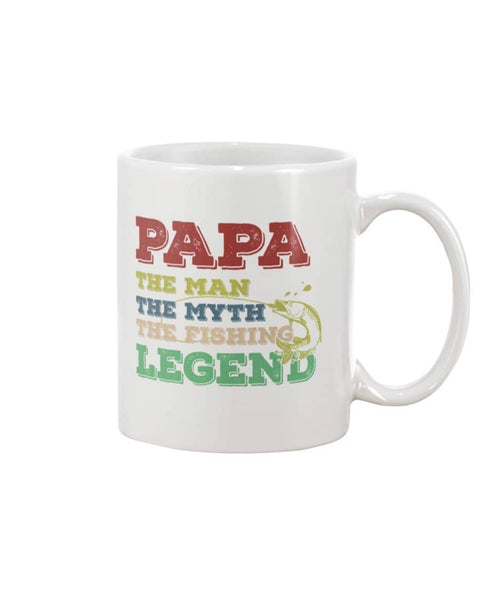 Fishing Dad Legend Mug - Happy Father's Day 2020
