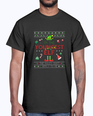 Youngest elf Shirt - Not The Worst Gift