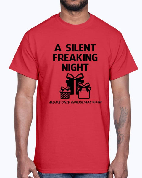 A SILENT FREAKING NIGHT Shirt - christmas 2019