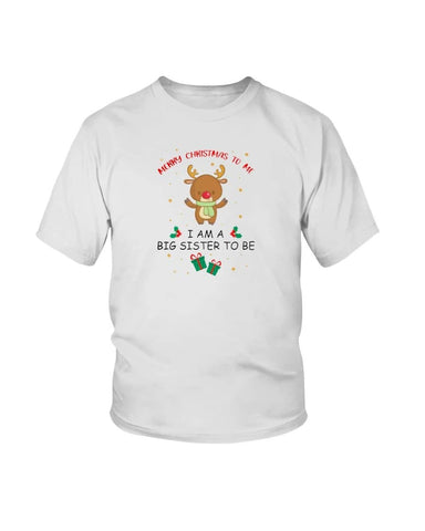 Big sister/brother Christmas Shirt - Happy Father's Day 2020