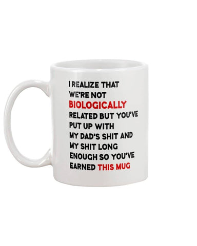 Stepmom You've Earned This Mug - Happy Father's Day 2020