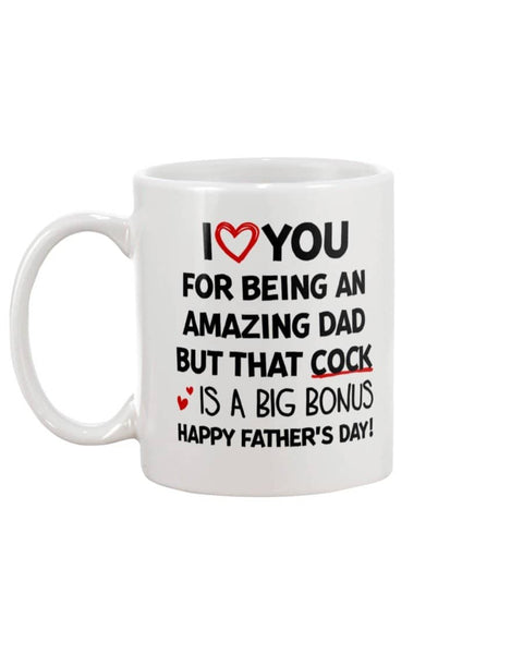 Cock Is A Big Bonus - Happy Father's Day 2020