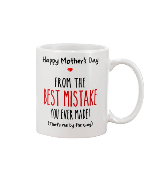 From Best Mistake Mug - Happy Father's Day 2020