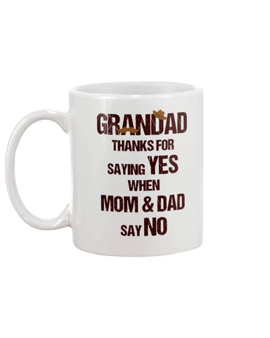 Thank Grandad For Saying Yes When Mom And Dad Say No - Happy Father's Day 2020