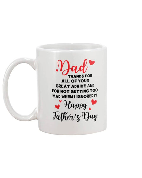 4 For Great Advice - Happy Father's Day 2020