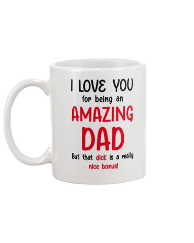 I Love You For Being Amazing Dad, But That Dick Is Really Nice Bonus!