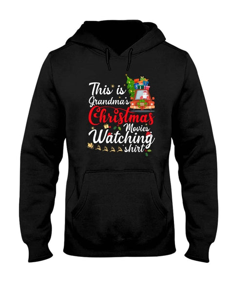GRANDMA'S CHRISTMAS MOVIES WATCHING SHIRT - Happy Father's Day 2020