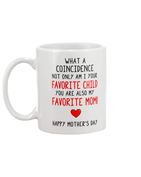 Coincidence Favorite Child Mug - Happy Father's Day 2020