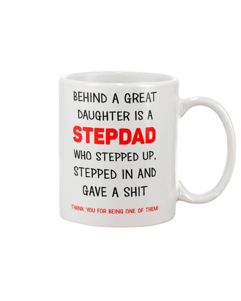 Stepdad Who Stepped In Mug - Happy Father's Day 2020