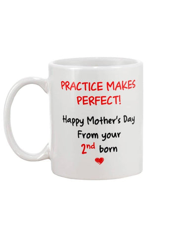 Practice Makes Perfect, Happy Mother's Day From 2nd Born - Happy Father's Day 2020
