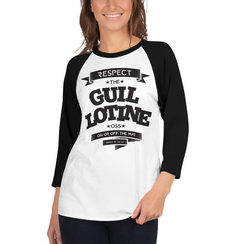 GUILLOTINE Woman's Raglan Shirt