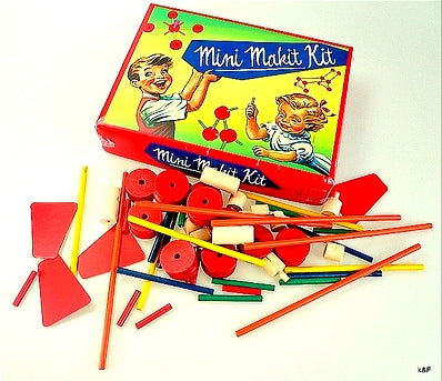 Mini Makit Wooden Construction Toy