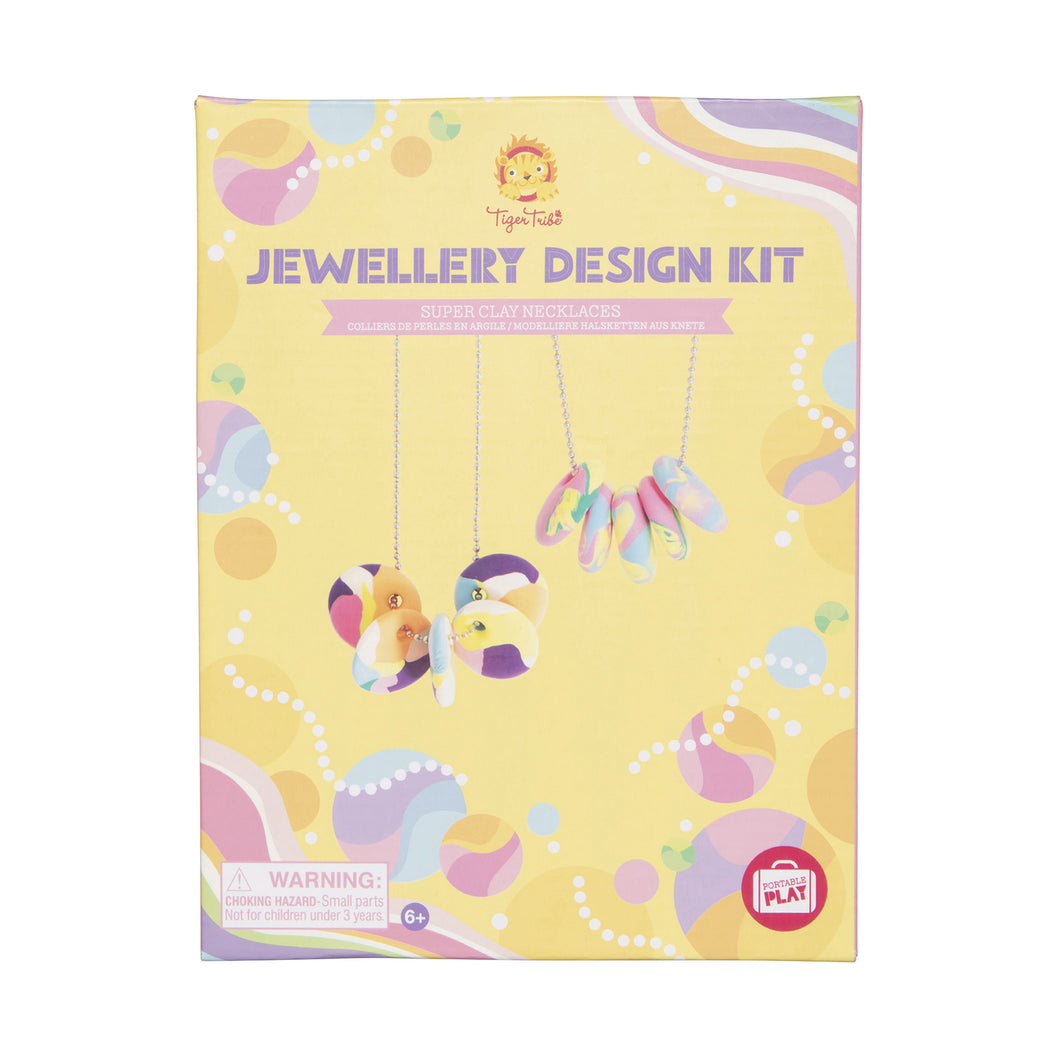 Jewellry Design Kit - Super Clay Necklaces