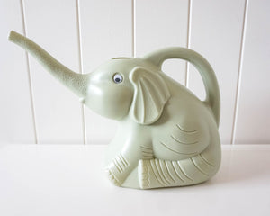 Watering Can Elephant - Green