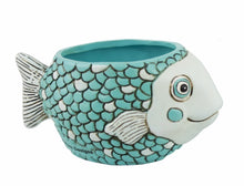 Load image into Gallery viewer, Baby Fish Planter - Blue