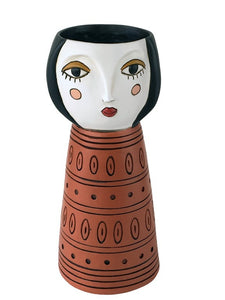 Lady Orange Vase/Planter