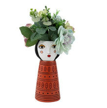 Load image into Gallery viewer, Lady Orange Vase/Planter