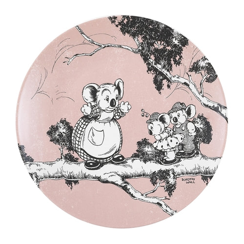 Blinky Bill Side Plate 20cm - Coral