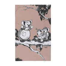 Load image into Gallery viewer, Blinky Bill Tea Towel - Coral Set 2