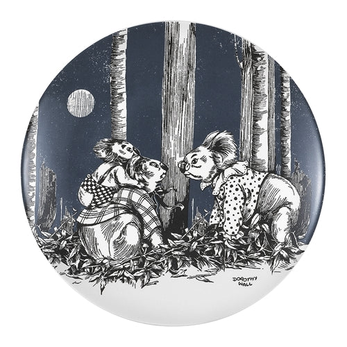 Blinky Bill Side Plate 20cm - Ink