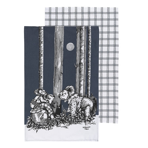 Blinky Bill Tea Towel Ink Set 2