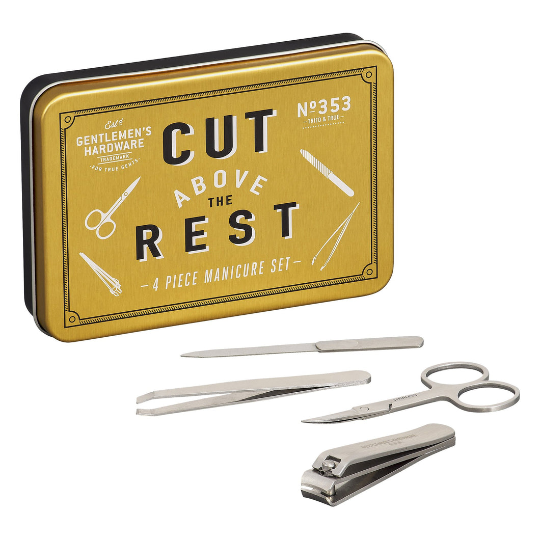 Manicure Set in Tin