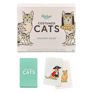 Costumed Cats - Memory Game