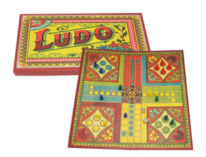 Ludo Retro Board Game