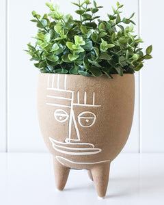 Picasso Footed Planter 15x18cm