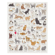 Load image into Gallery viewer, Cat Lovers Jigsaw Puzzle - 1000 pc