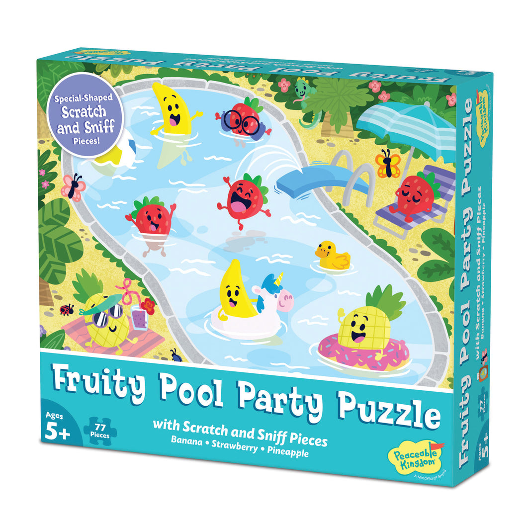 Fruity Pool Party - Jigsaw Puzzle